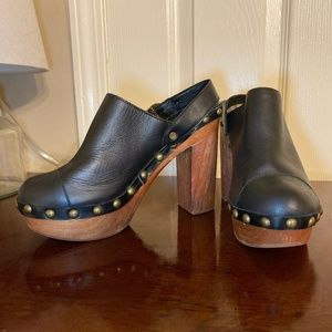 Jeffrey Campbell Woodies Clogs